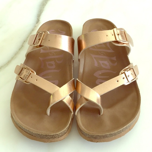 e6afdf07cb89 Mad Love for Target Shoes - Footbed Sandal - rose gold - size 7